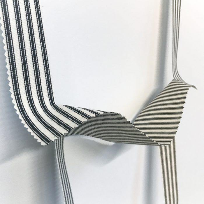 Fallen Painting—four stripes (detail)